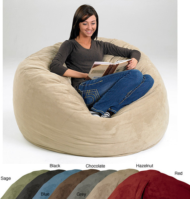 Large Memory Foam Bean Bag Contemporary Kids Chairs