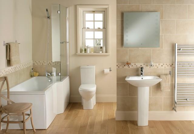 Right Hand Sorea Complete Bathroom Suite Modern