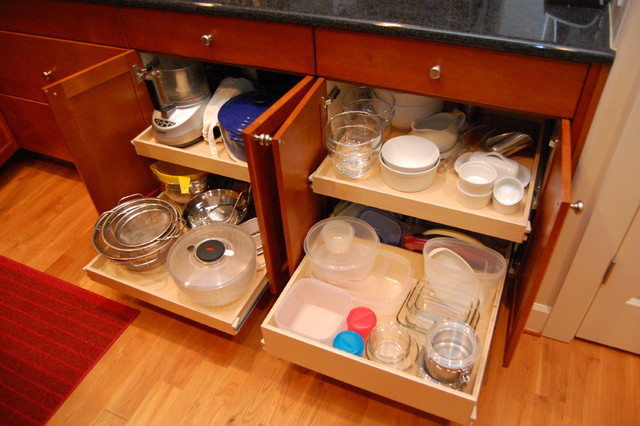 Custom Roll Out Shelves kitchen-drawer-organizers
