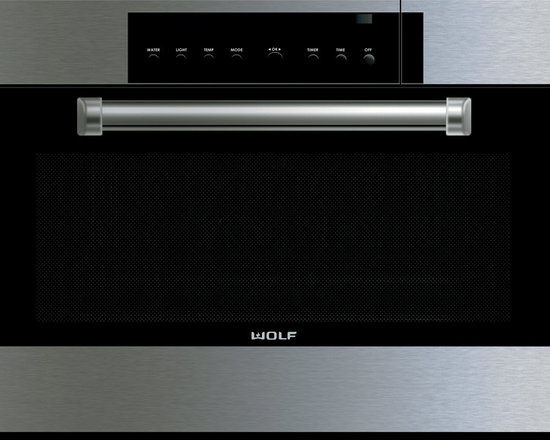 "Wolf 30"" E Series Professional Convection Steam Oven Stainless Steel 