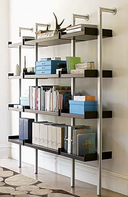 Treku Bookcase modern-display-and-wall-shelves