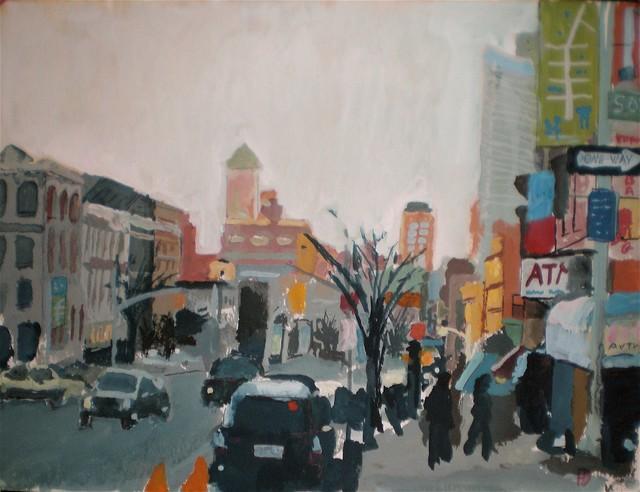 Fort Greene #1 Artwork contemporary-paintings