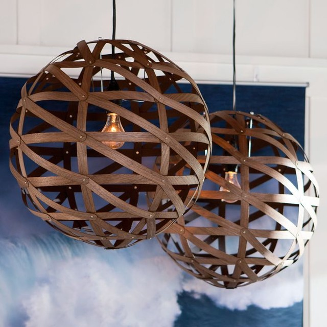 Austen Wood Veneer Pendant modern-pendant-lighting