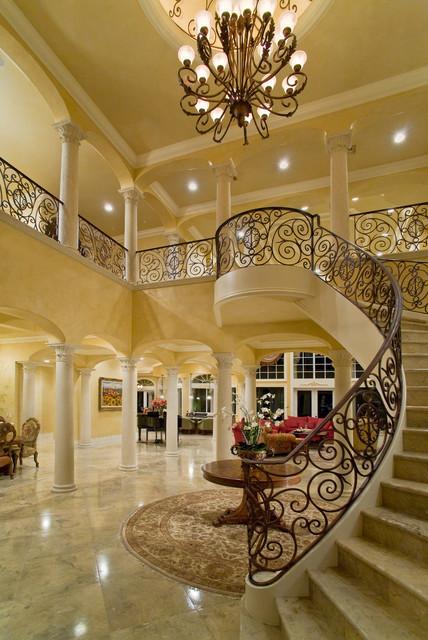 Casa paralea traditional other metro by jma interior - Luxury foyer interior design ...