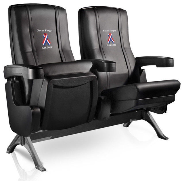 9-11 Never Forget Row One VIP Theater Seat - Double traditional-chairs