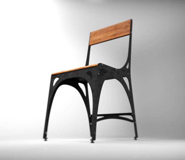Prototype furniture industrial dining chairs toronto for Chair design toronto