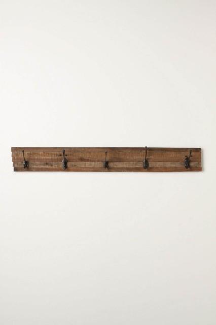 Schoolroom Hook Rack rustic-wall-hooks