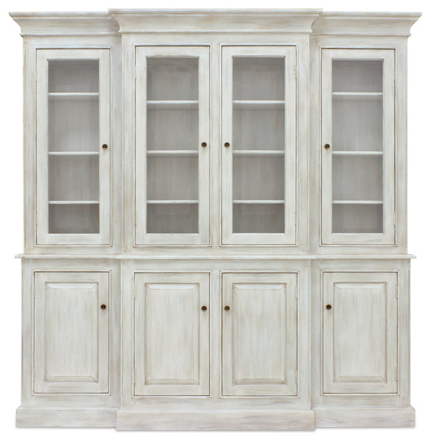 Livingston Hutch - Traditional - China Cabinets And Hutches - new york - by Coach Barn