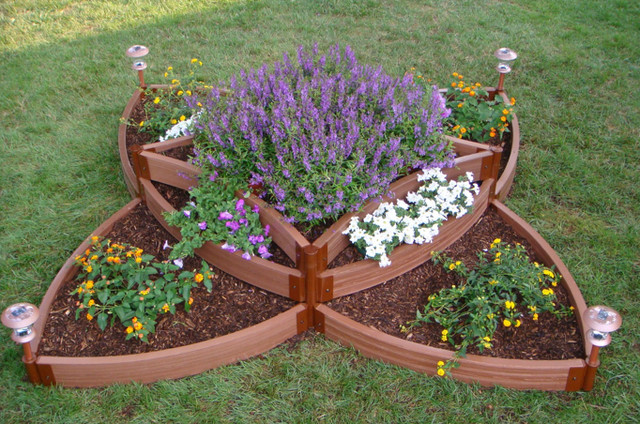 Butterfly Raised Bed Garden Kit traditional-outdoor-products