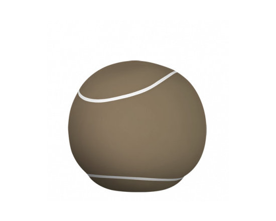 The Bool - With its round tennis ball look, the new generation of pouf is sporty in appearance...yet is ideal for cosy relaxation.