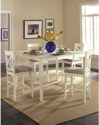 Riverside Color Mates Counter Height 5 pc Dining Set modern-dining-tables