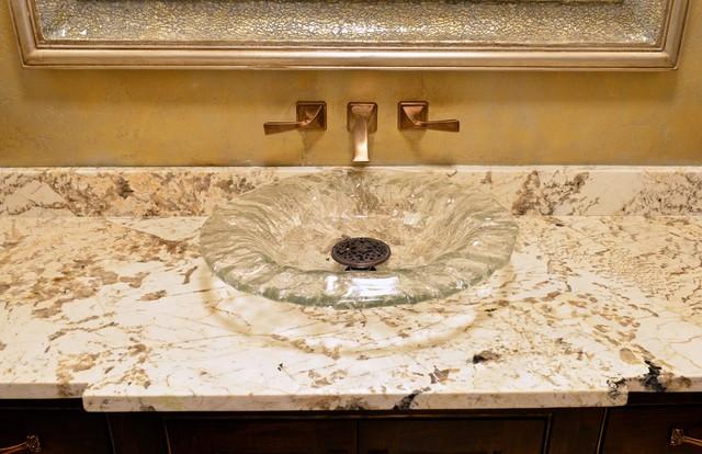 Vanity Side Splash : Bathrooms traditional vanity tops and side splashes