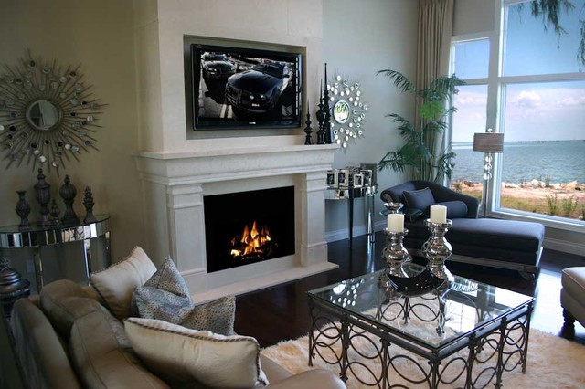 concrete fireplace mantel canopy contemporary indoor fireplaces