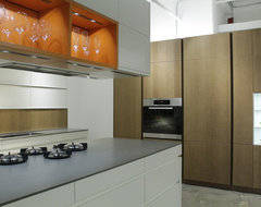 NYC Showroom contemporary kitchen