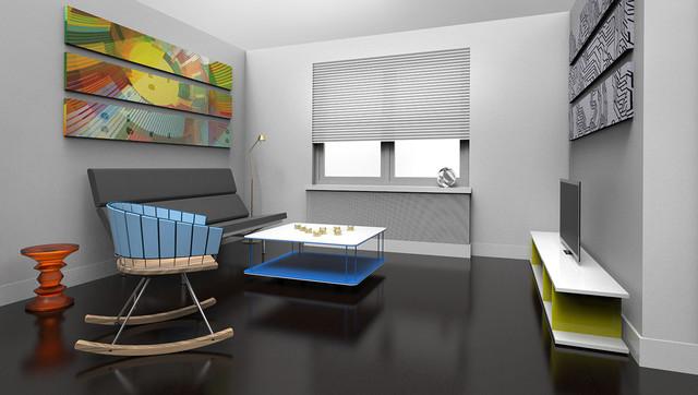 Brooklyn contemporary-rendering