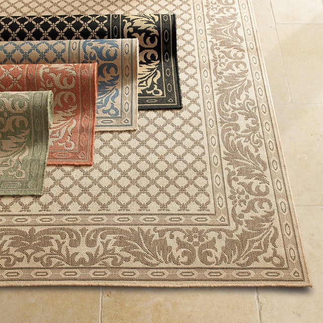 Ashworth Outdoor Area Rug Traditional Outdoor Rugs