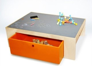 Parker Playtable with Reversible Chalkboard Top - Modern - Kids Tables - by AllModern