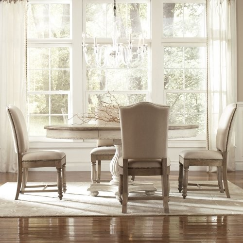 Pc Round Dining Set Traditional Dining Tables By Hayneedle