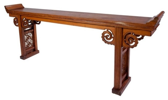 Long Chinese Alter Table with Drawers - Asian - Side Tables And End Tables - boston - by Market 27
