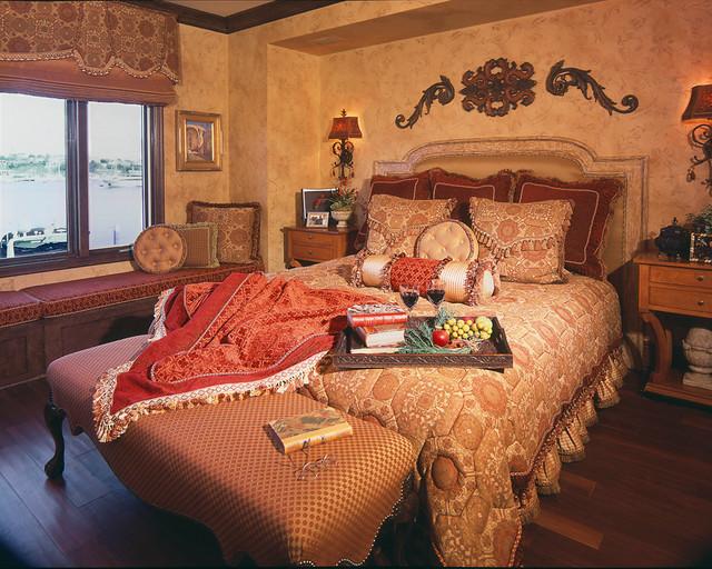 Newport Beach, CA mediterranean-bedroom