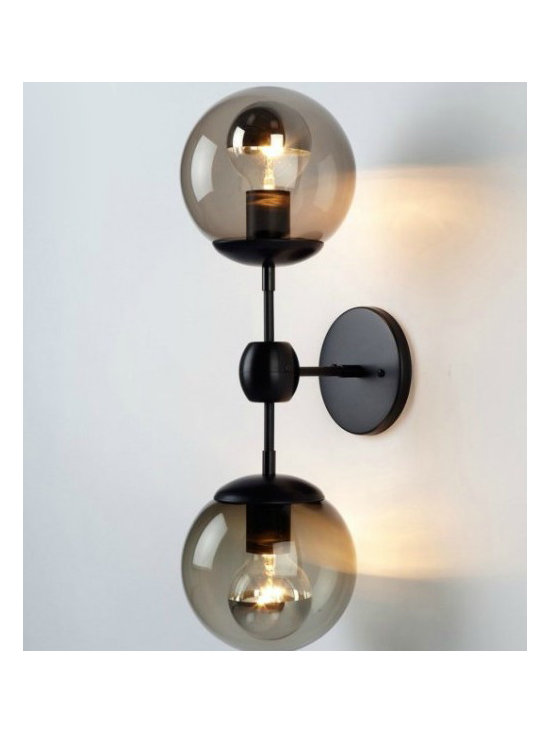 Antique Glass Ball Wall Sconce and Lights - Antique Glass Ball Wall Sconce and Lights