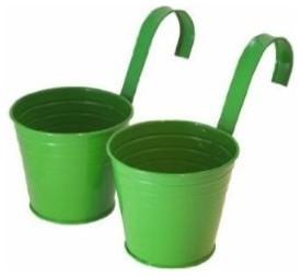 Master Craft Hanging Basket Bucket Planters contemporary-outdoor-planters