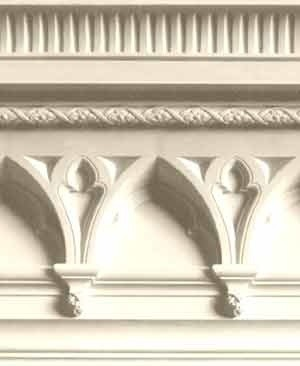 Hh80 Arched Gothic Cornice Traditional Molding And