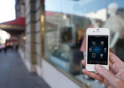 Home automation-smart phone modern-home-electronics