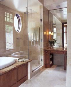 newdesignstudios.com - Post Modern traditional-bathroom