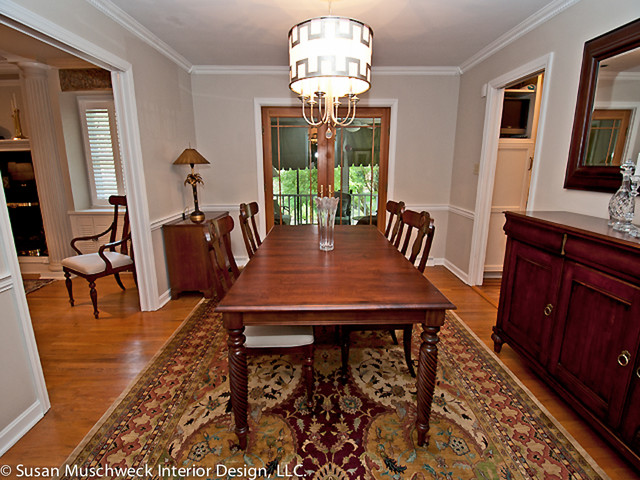 Updated traditional dining room traditional dining for Updating a traditional dining room
