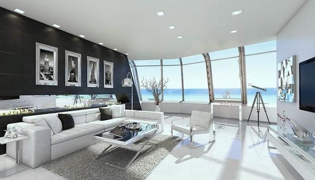 Modani Homes contemporary-living-room