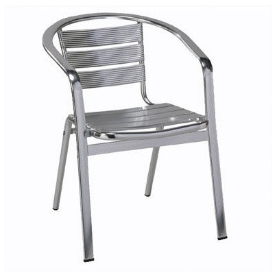 Regal Rochester Metal Frame Patio Chair Contemporary Outdoor Lounge Chairs By Fireforless