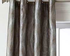 Window Treatments - grommet drape heading