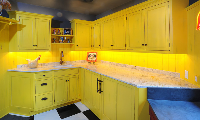Amish Custom Cabinetry traditional