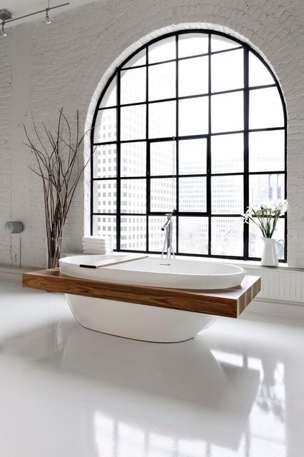Bbe01 Shelf Modern Bathtubs Montreal By Wetstyle