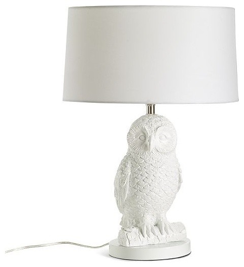 Owl Table Lamp eclectic-table-lamps