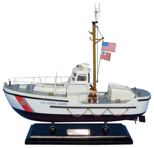 uscg utility boat 16 quot wooden us coast guard boat