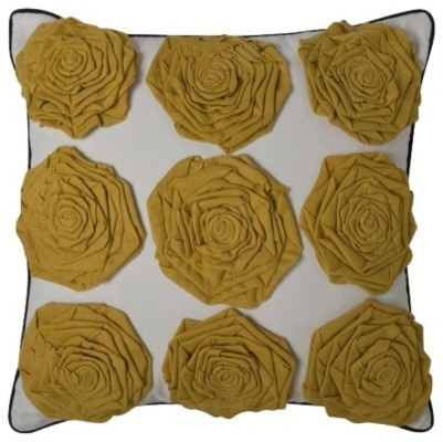 DwellStudio® for Target® Yellow Rosettes Pillow eclectic pillows