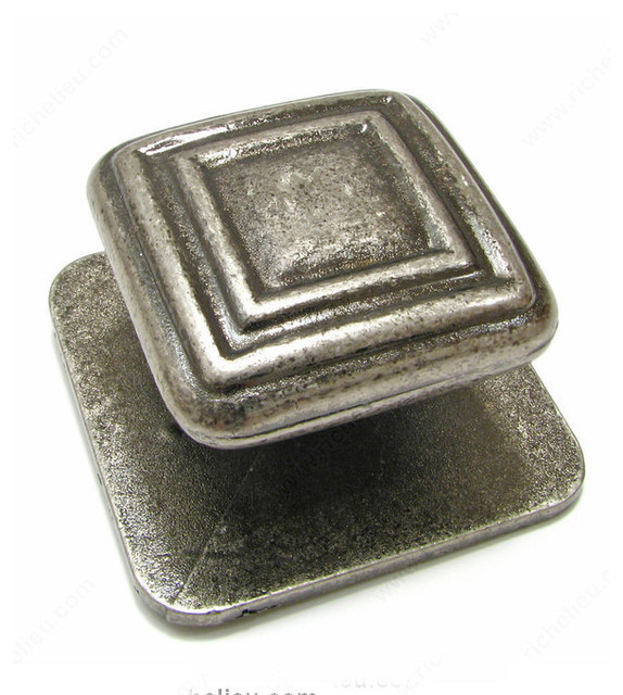 Contemporary Metal Knob - 981 - Modern - Cabinet And Drawer Knobs - by TheRTAStore.com