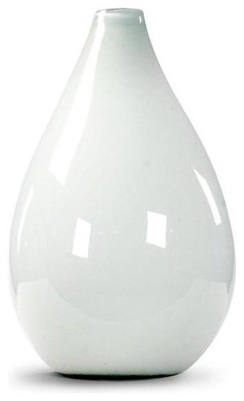 Zentique Poseidon Vase - White traditional-vases