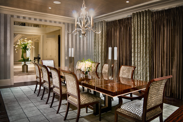 dining room by Martin P. Mitchell, ASID