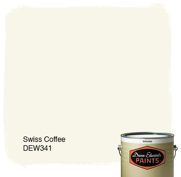 Dunn-Edwards Paints Swiss Coffee DEW341