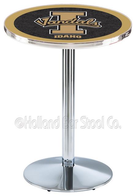 Holland Bar Stool L214 - Chrome Idaho Pub Table contemporary-bar-tables