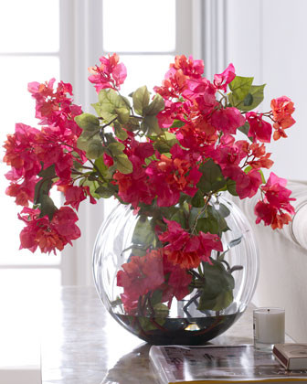 John-Richard Collection Bougainvillea Bouquet traditional-vases
