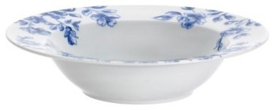 Paula Deen Signature Dinnerware Spring Prelude Collection Soup Bowls 4pc. Set modern-bowls