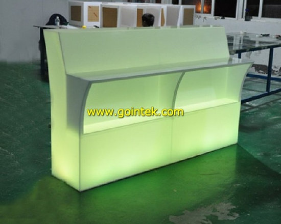 modern led table with remote control -