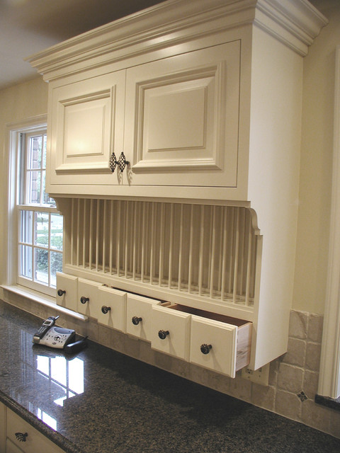 Cabinet details & specialty cabinets - Dish Racks - detroit - by Woodmaster Kitchens