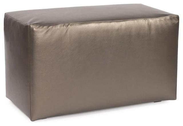 Howard Elliott Shimmer Pewter Universal Bench modern-upholstered-benches