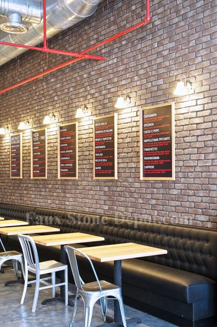 Faux Brick Panels Contemporary Home Decor Miami By