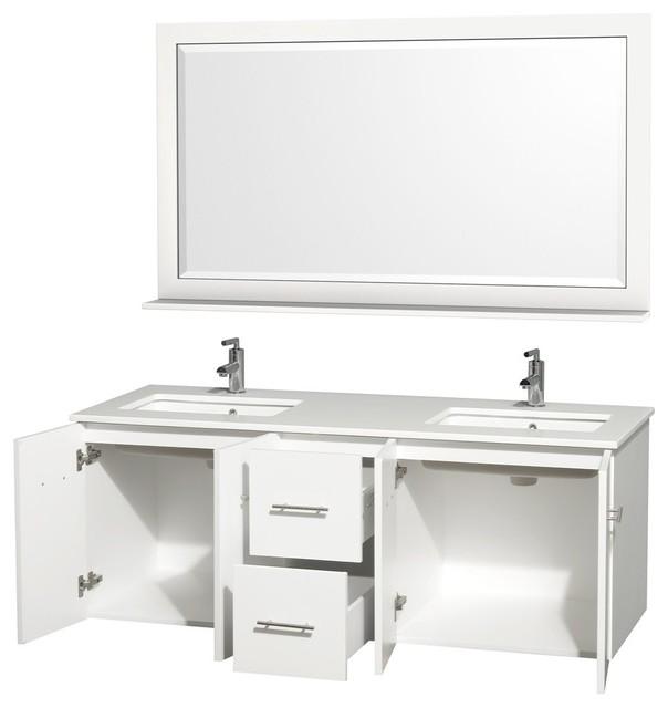 Double Bathroom Vanities contemporary-bathroom-vanities-and-sink-consoles